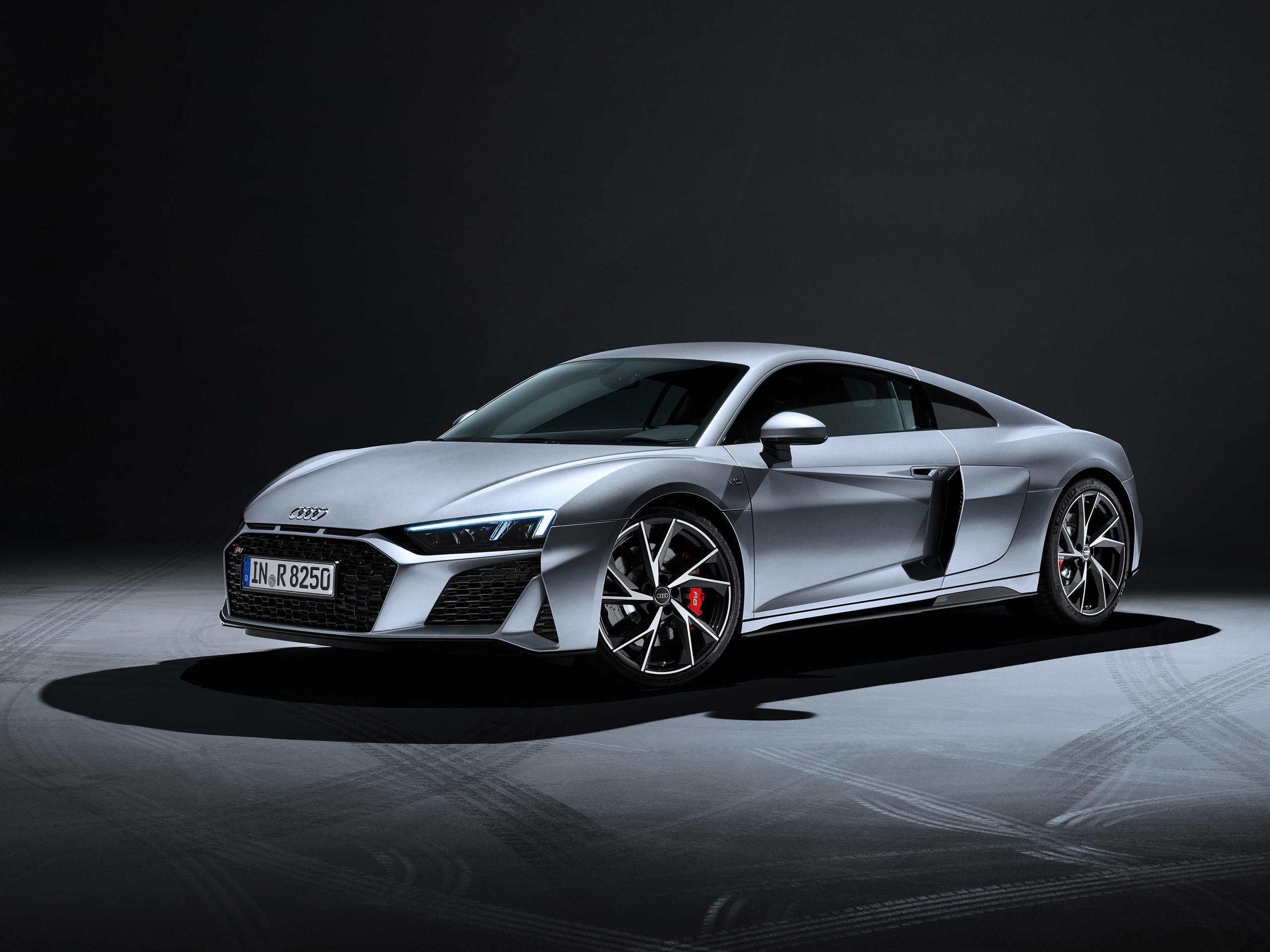 Audi R8 Coupe V10 Rwd 2020 アウディに嵌まる 壁紙画像ブログ