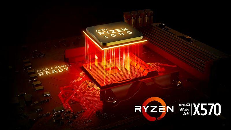 第 3 世代 Ryzen CPU(Zen 2)でこだわりの自作 PC を仮組!テストベンチ動作確認編
