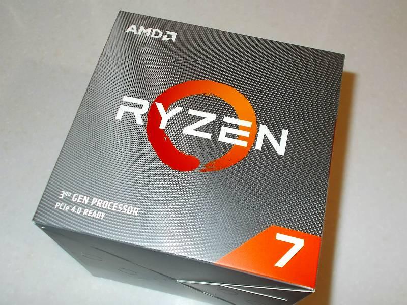 第 3 世代 Ryzen CPU(Zen 2)でこだわりの自作 PC を構成!PC パーツ購入編、第 3 世代 Ryzen CPU(Zen 2) 自作 PC メインパーツ構成リスト、CPU AMD Ryzen 7 3700X 購入、ロット No. 1930SUS