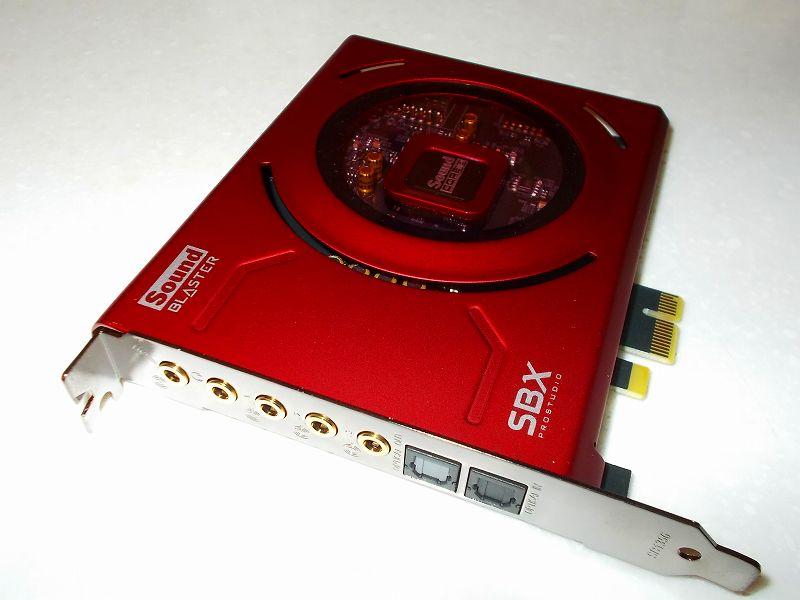 第 3 世代 Ryzen CPU(Zen 2)でこだわりの自作 PC を構成!PC パーツ購入編、第 3 世代 Ryzen CPU(Zen 2) 自作 PC メインパーツ構成リスト、サウンドカード Creative Sound Blaster Z SB-Z 購入