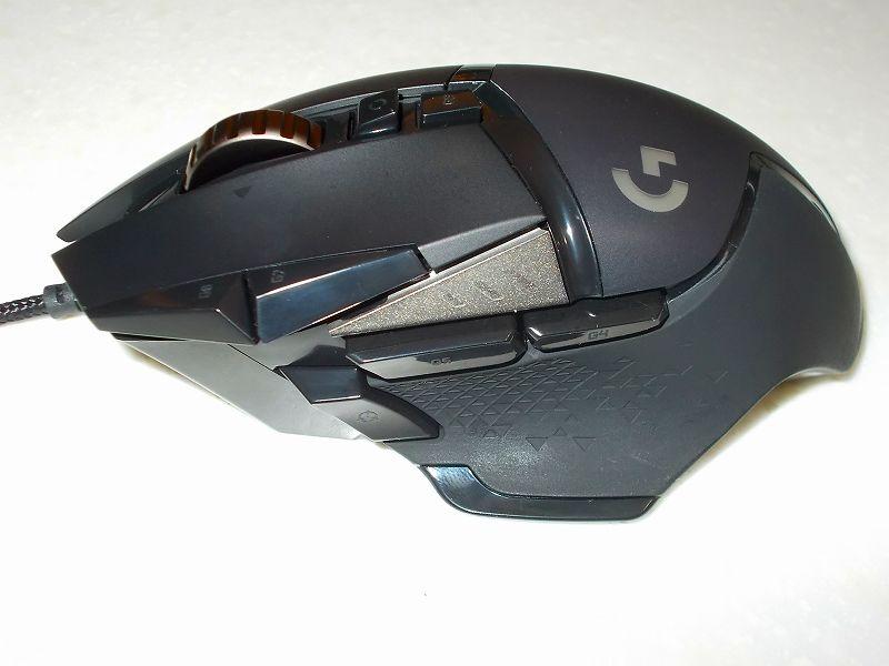 第 3 世代 Ryzen CPU(Zen 2)でこだわりの自作 PC を構成!PC パーツ購入編、自作 PC 周辺機器リスト、自作 PC 周辺機器リスト、マウス ロジクール ゲーミングマウス G502 HERO 開封