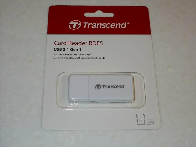 第 3 世代 Ryzen CPU(Zen 2)でこだわりの自作 PC を構成!PC パーツ購入編、自作 PC 周辺機器リスト、USB 3.1 カードリーダー Transcend TS-RDF5W 購入