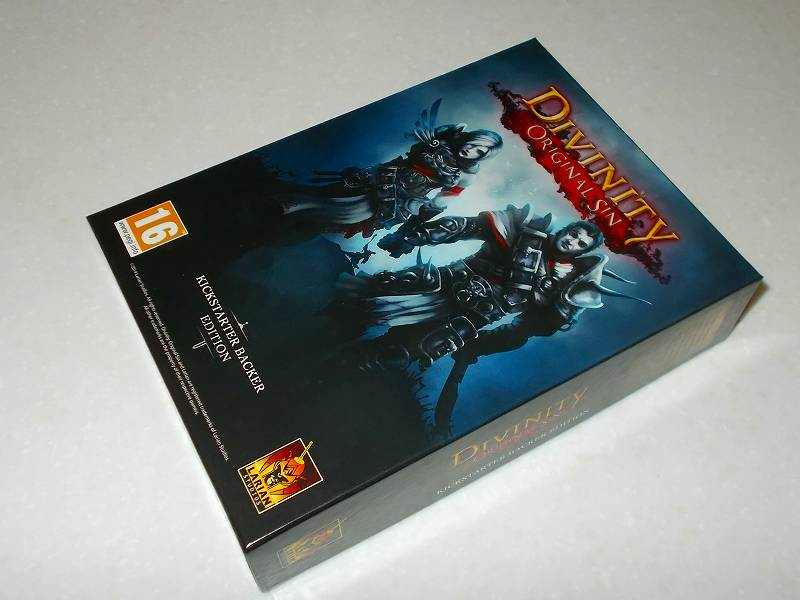 Larian Studios Divinity: Original Sin Kickstarter Reward - KICKSTARTER BACKER EDITION BOX