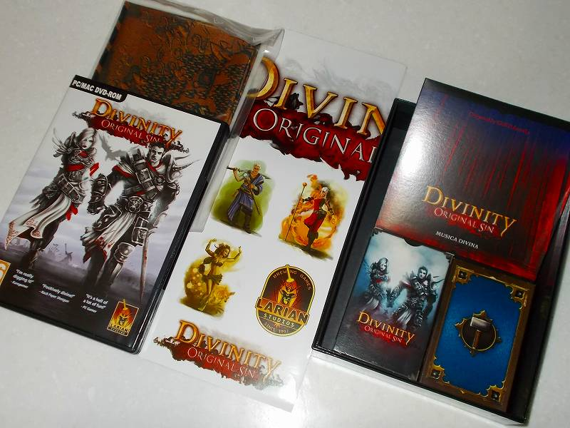 Larian Studios Divinity: Original Sin Kickstarter Reward - KICKSTARTER BACKER EDITION Unbox