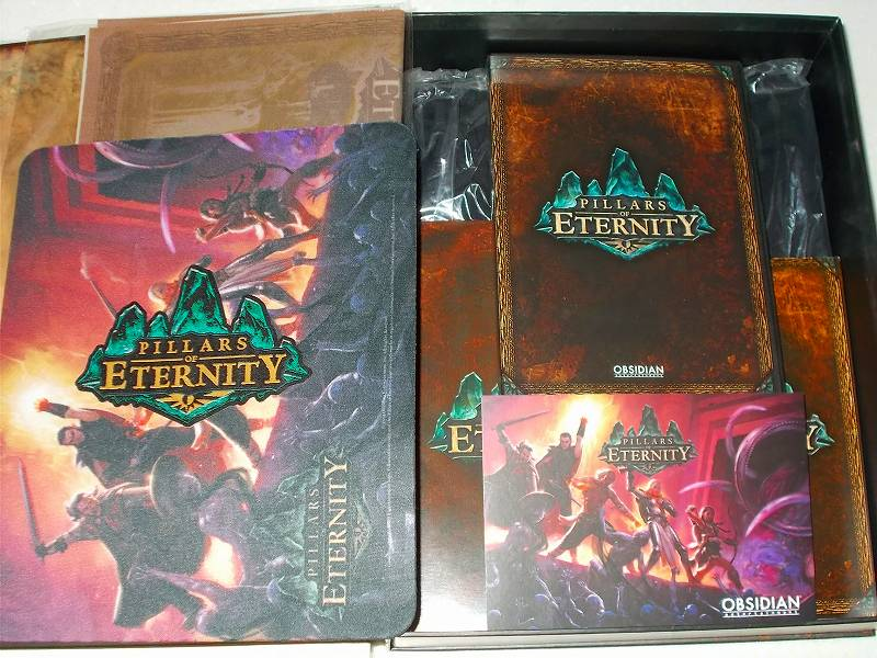 OBSIDIAN Entertainment Pillars of Eternity Kickstarter Reward - COLLECTOR'S EDITION Unbox