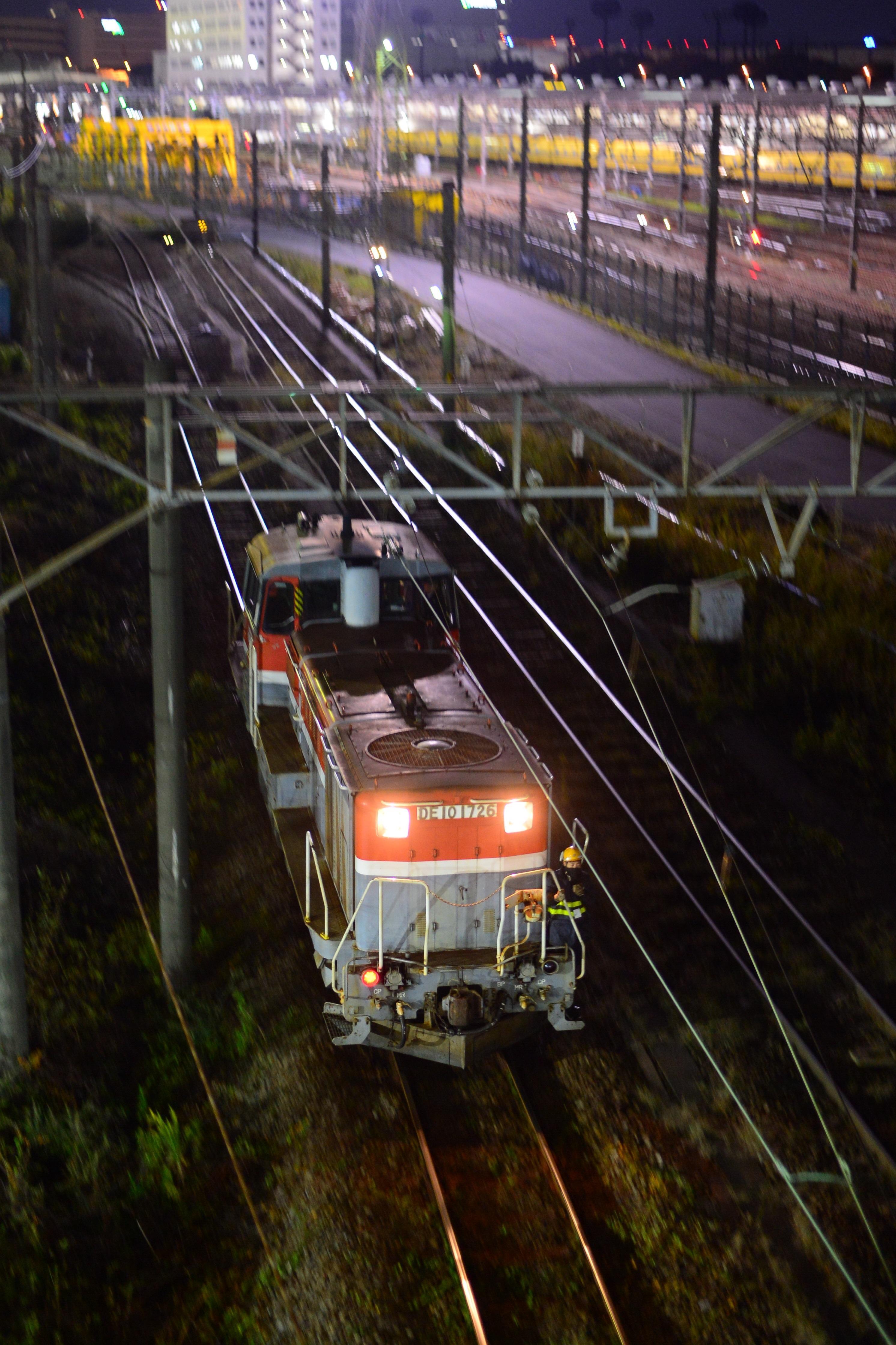 東京タ入換