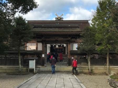 中山神社・拝殿