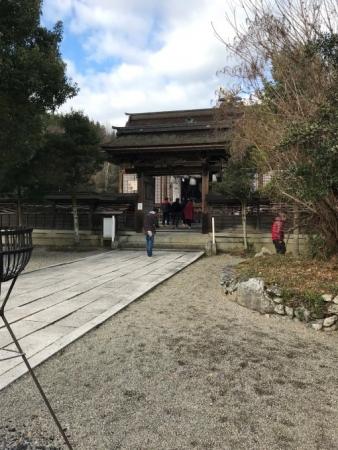 中山神社・拝殿2
