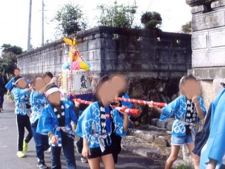 作州武蔵 樽神輿