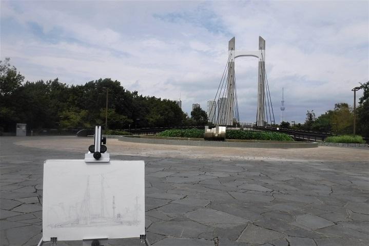 19.10.8 スケッチハイク木場公園・清澄庭園 (54)