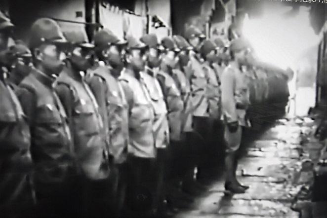 12 「戦う兵隊」亀井文雄監督1939年。