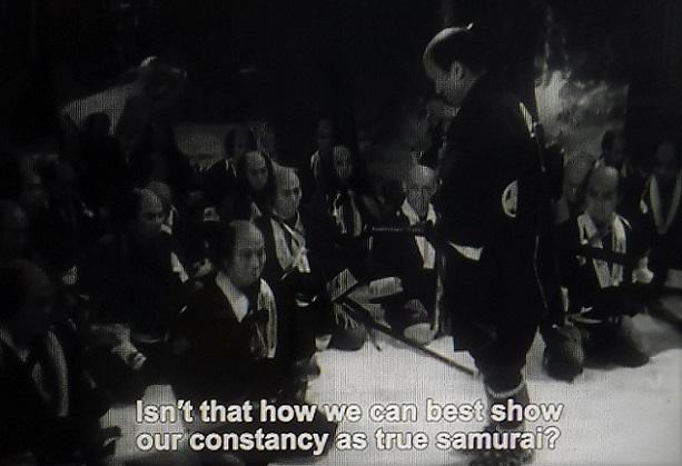 「元禄忠臣蔵」溝口健二監督1941年