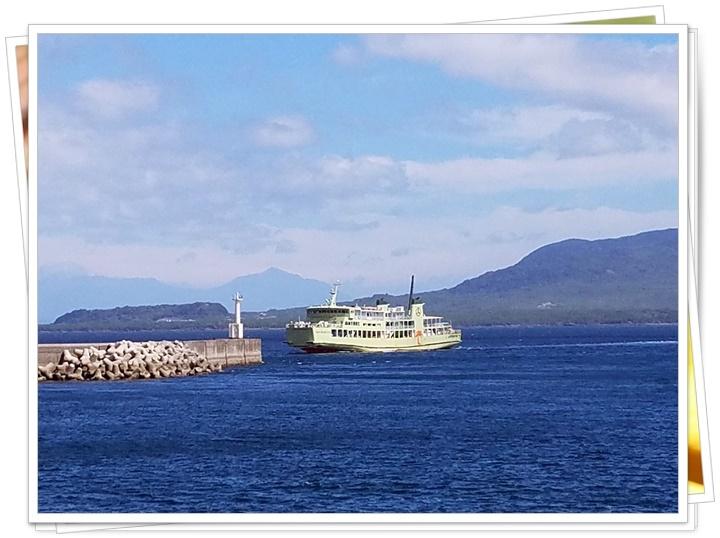 桜島と垂水フェリー1-2