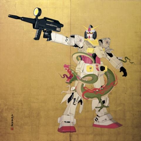 1「RX-78-2 傾奇者 2005 Version」(天明屋尚・てんみょうやひさし氏の作品)