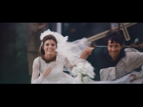 花嫁強奪シーン:映画「卒業」(1967年)