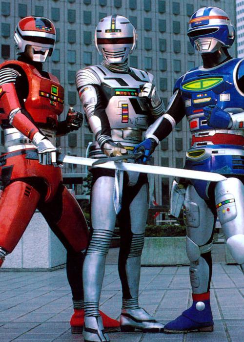 メタルヒーロー三銃士