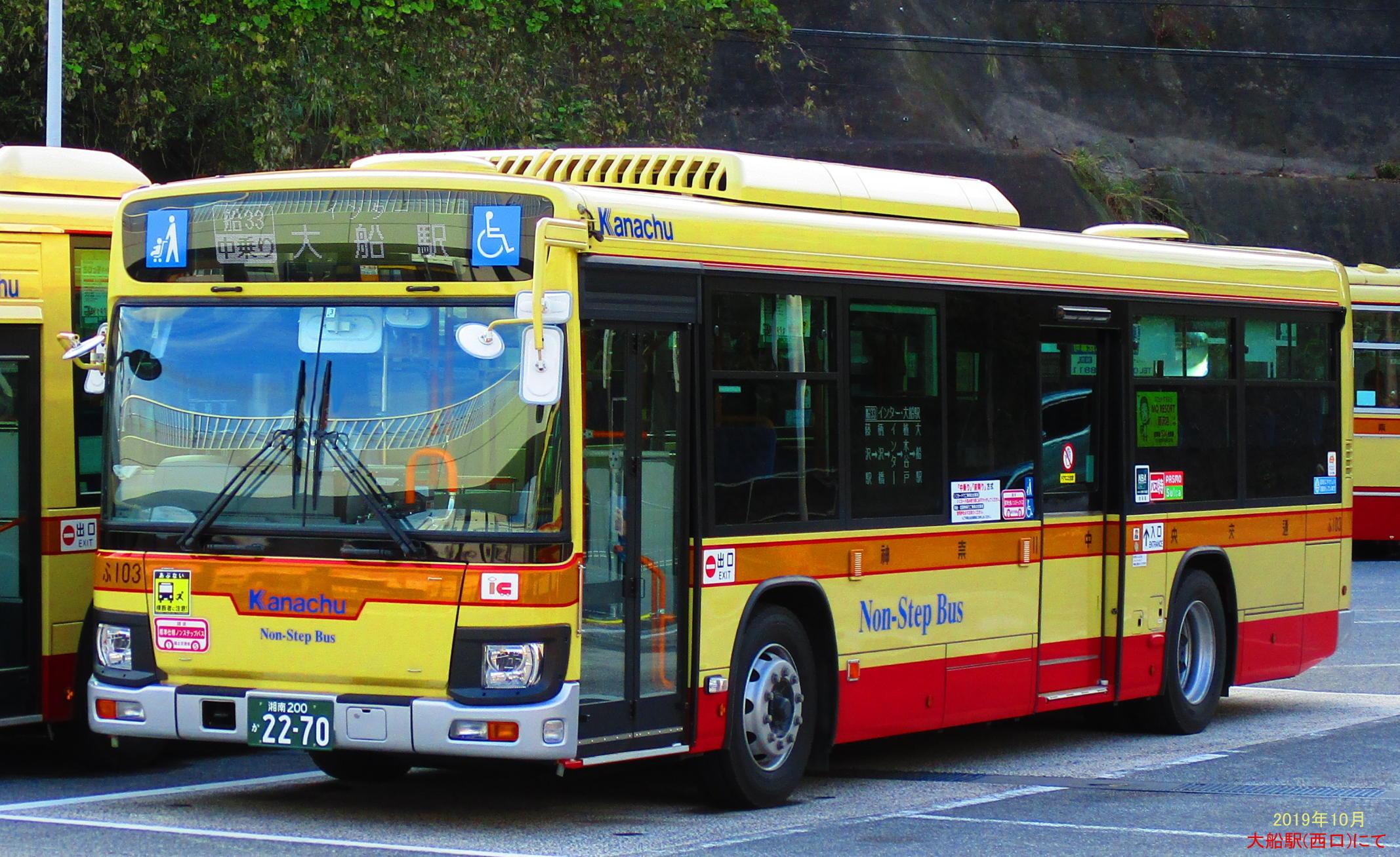 神奈川中央交通 藤沢大船線 - BUS LINE UP