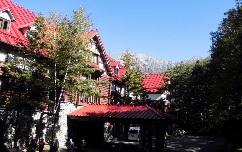 上高地帝国ホテル朝