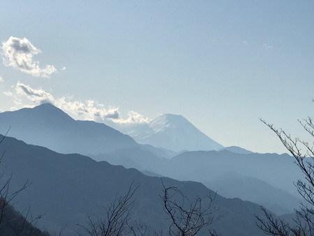 高尾山富士山