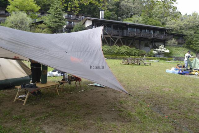 何がなんでもキャンプだし レストリブレ すげのレジャー 管理釣り場 ホットドッグ マス釣り 高校生 父子キャンプ 釣果 ムニエル バター まずめ時
