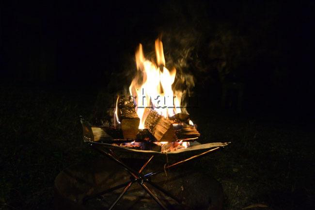 何がなんでもキャンプだし 焚火テーブル 囲炉裏 マルチファイアプレイステーブル ヒマラヤ 初期不良 迅速 交換 ラージ グリル グルキャン