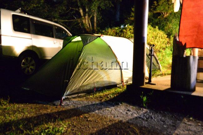 何がなんでもキャンプだし https://campdaisuki.blog.fc2.com/ せせらぎ荘 キャンプ ファウデ テント ファーリット