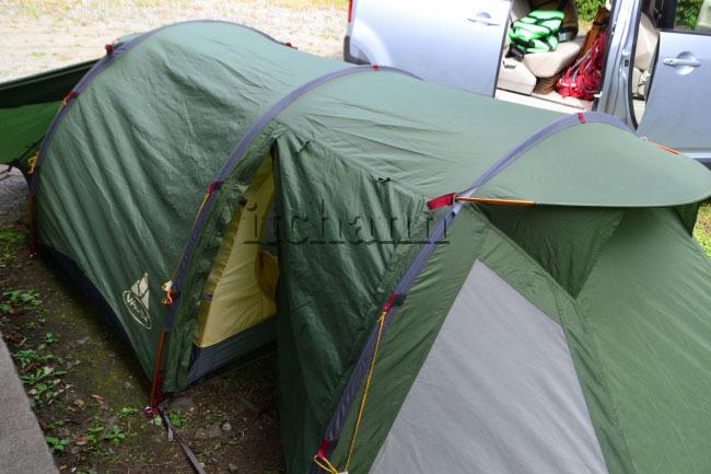 何がなんでもキャンプだし https://campdaisuki.blog.fc2.com/ ファウデ ファーリット3 せせらぎ荘 キャンプ場