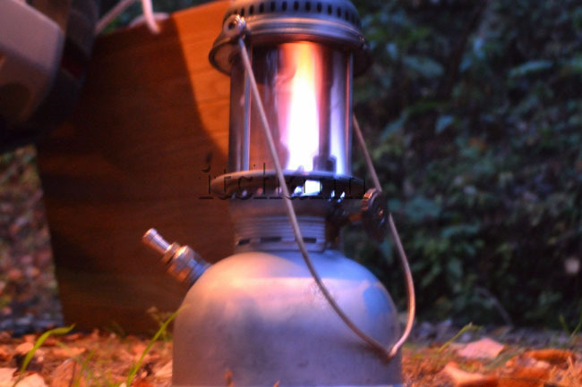 何がなんでもキャンプだし リバティ 大王 マントル ケロシン 灯油 加圧式 ランタン ペトロマックス 250HK 厚さ