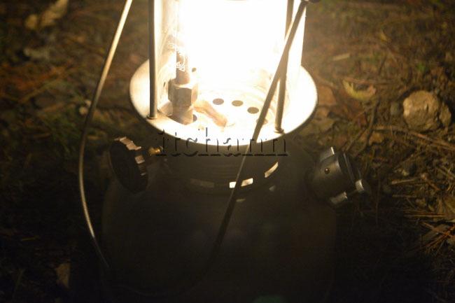 何がなんでもキャンプだし すげのレジャー 都留 テンティピ ペトロマックス 821HK250 ケロシン ランタン コールマン 639C700