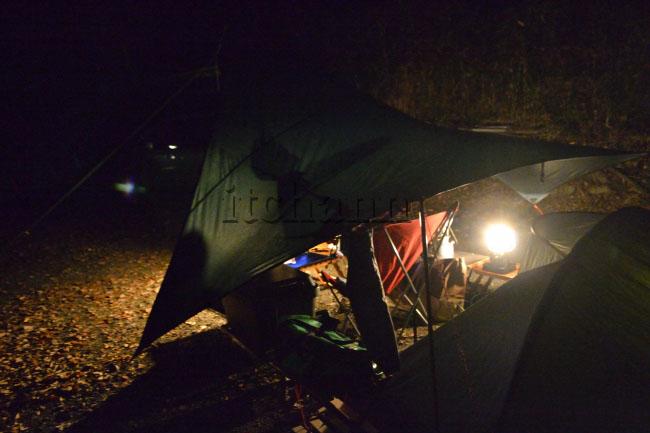 何がなんでもキャンプだし 久保キャンプ場 KB パトロールキャンプ ミニマムキャンプ オガワ張り AC電源 生ビール ナンガ ダウンシュラフ ポータブル電源