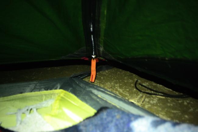 何がなんでもキャンプだし 青根キャンプ場 冬 ソロ テント補修 氷点下 マイナス 結露 霜 アルパカ ストーブ