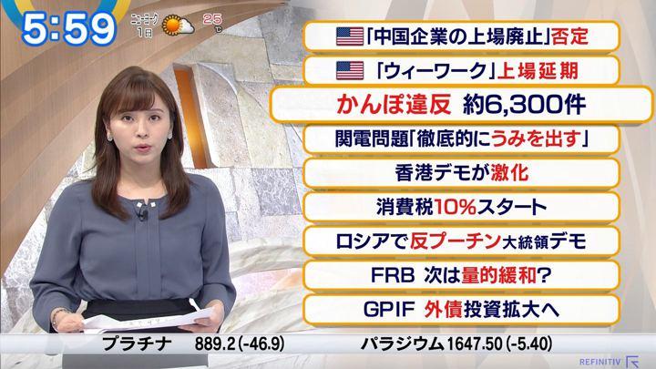 2019年10月01日角谷暁子の画像05枚目