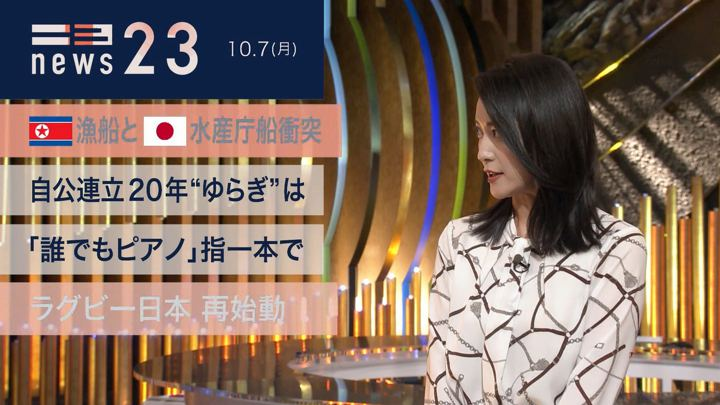 2019年10月07日小川彩佳の画像05枚目