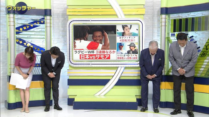 2019年10月05日鷲見玲奈の画像02枚目