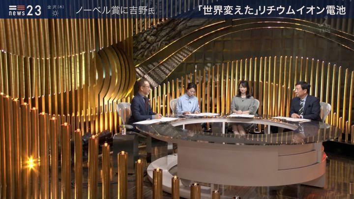 2019年10月09日山本恵里伽の画像01枚目