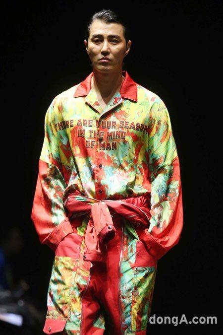 チャスンウォン ソンジオ ファッションウィーク