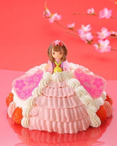 おひなさまケーキ_正面