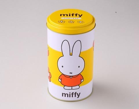 ミッフィー丸缶