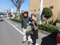 貝瀬さん、春の元気をありがとうございます♪(20200305)
