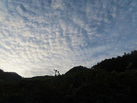 007秋の雲