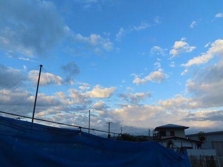 001朝の空