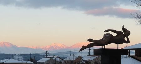006西の山々