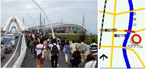 豊田スタジアムマップ