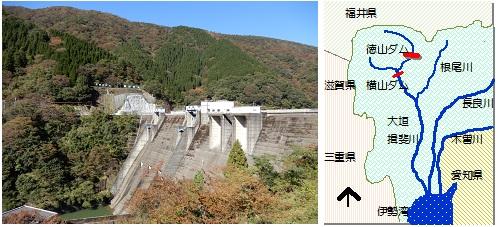 横山ダムマップ