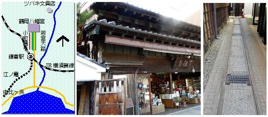 鎌倉参道マップ