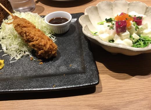 191108羽田ライオン夕食
