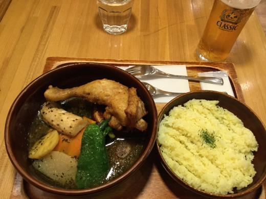 191214札幌スープカレー昼食