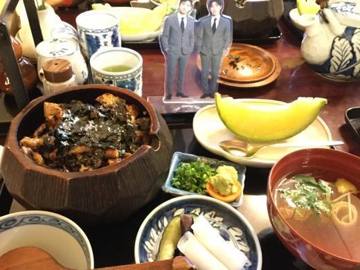 200112名古屋かねぶん昼食櫃まぶし