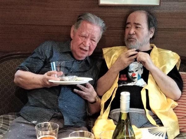 日本演劇界のレジェンド二人