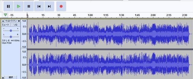 ウルトラマンタロウ オリジナル 録音 リサイズ